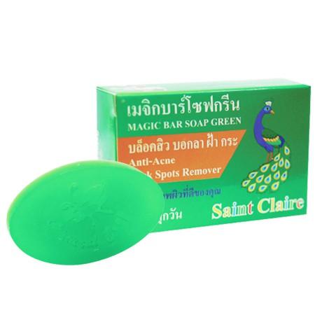 สบู่ก้อนน้ำผึ้งสีเขียว 65 กรัม